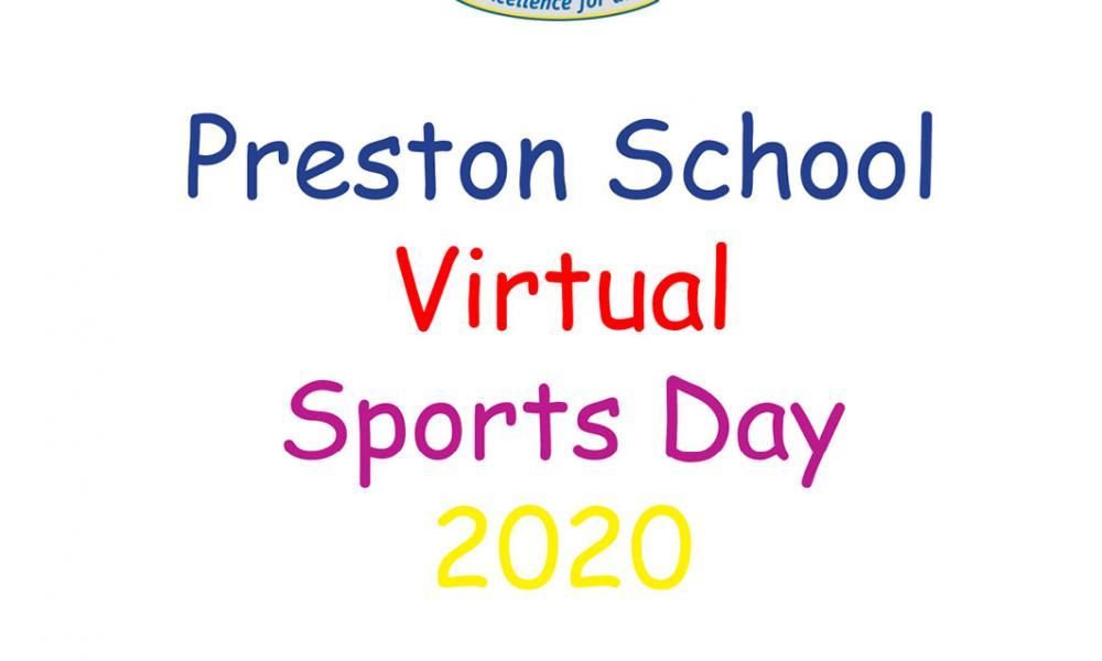 Preston School 'Virtual' Sports Day