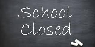 School Closed 1/2/2019