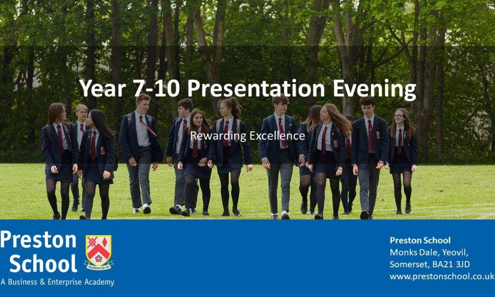 Year 7-10 Presentation Event Launch