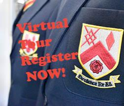Register NOW for our Virtual Open Day