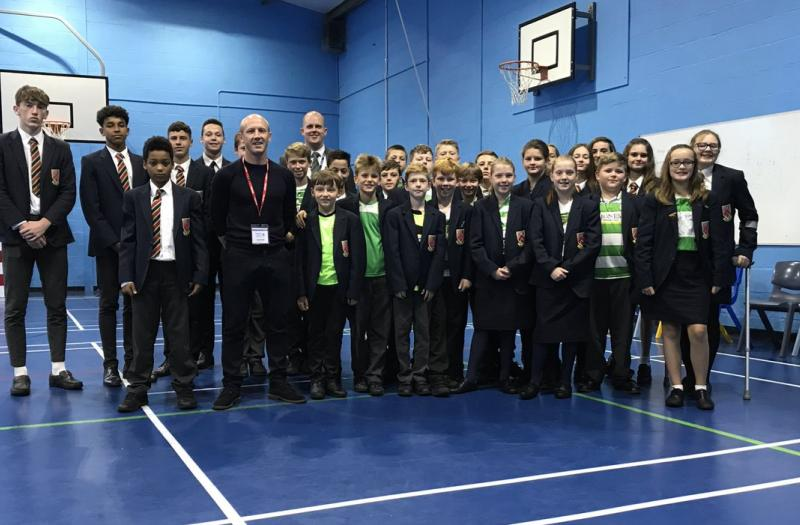 Yeovil Town Inspires Students